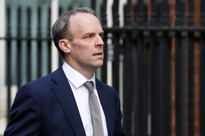 We've Been Able To Bring Home A British Child From Syria – Dominic Raab