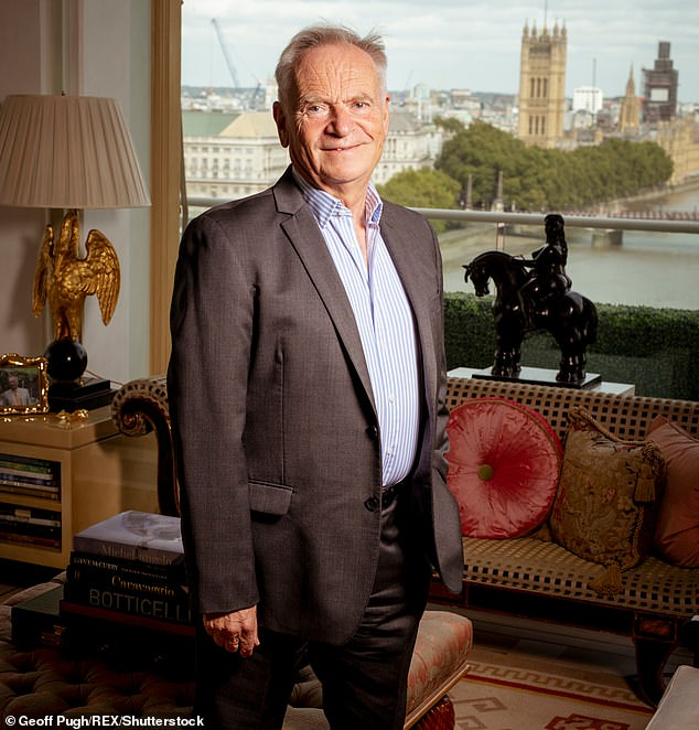 "Jeffrey Archer Celebrates His 80th Birthday ""Very Quietly"""