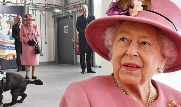 Queen Criticized For Carrying Out Public Royal Duty Without A Mask