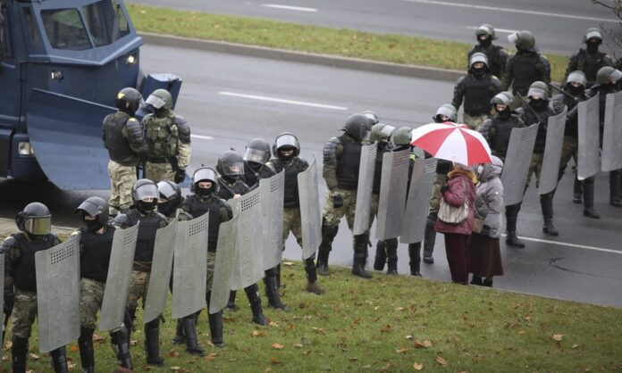 Belarus tells banks to seize money raised to help out protesters