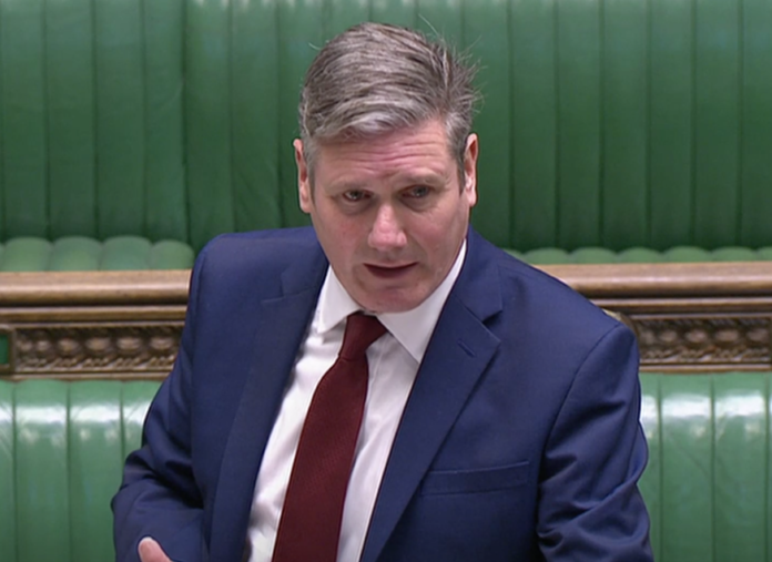 Labour to abstain on Covid tiers vote 'in the national interest'