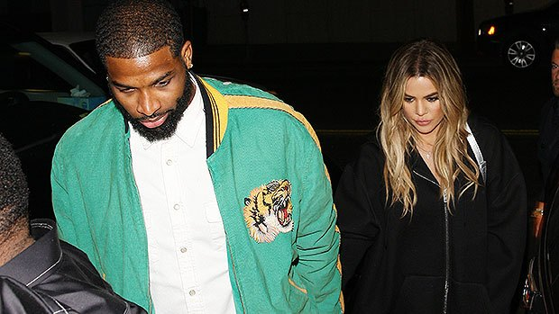Khloé Kardashian and Tristan Thompson Enjoy Date Night in Boston