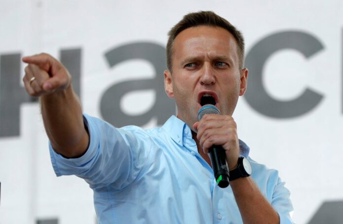 Russian agents tried to kill Navalny by 'putting poison in his underpants'