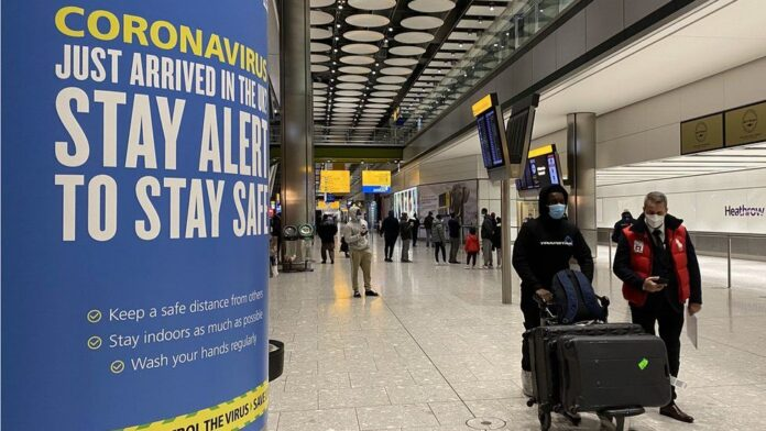 New quarantine rules expected for travellers to UK