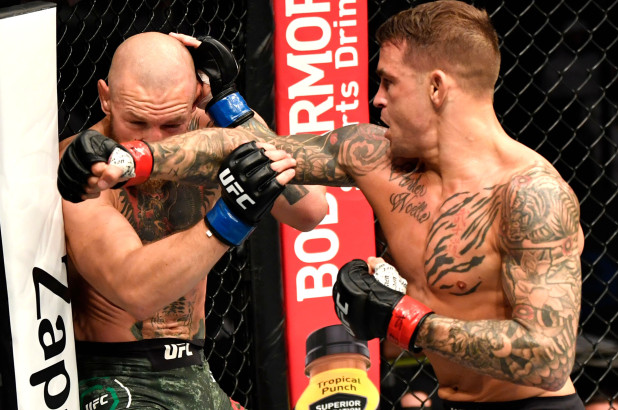 Conor McGregor Downed By Dustin Poirier In UFC Return Fight - SurgeZirc UK