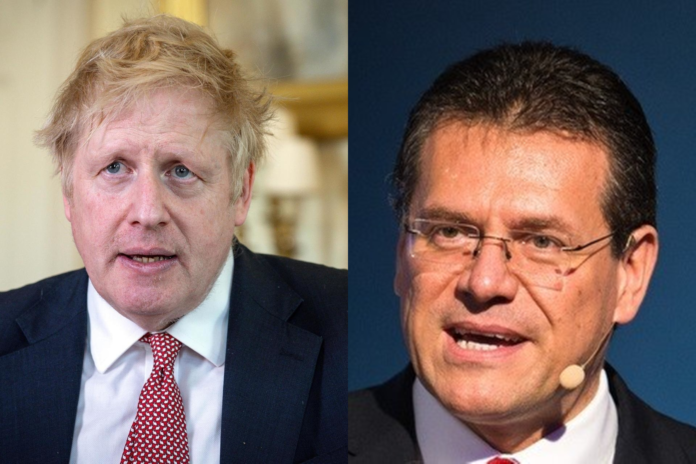 EU Official Mr Sefcovic - There Will Always Be Consequences For Brexit - SurgeZirc UK