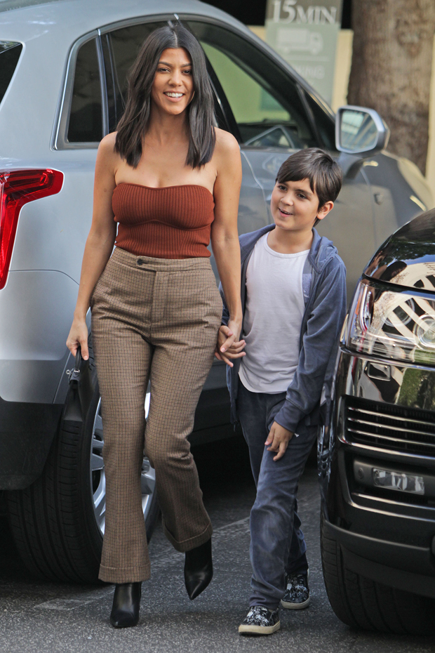 Kourtney Kardashian Son Mason Disick Puts Her On Blast For Sharing A Room With Addison Rae - SurgeZirc UK