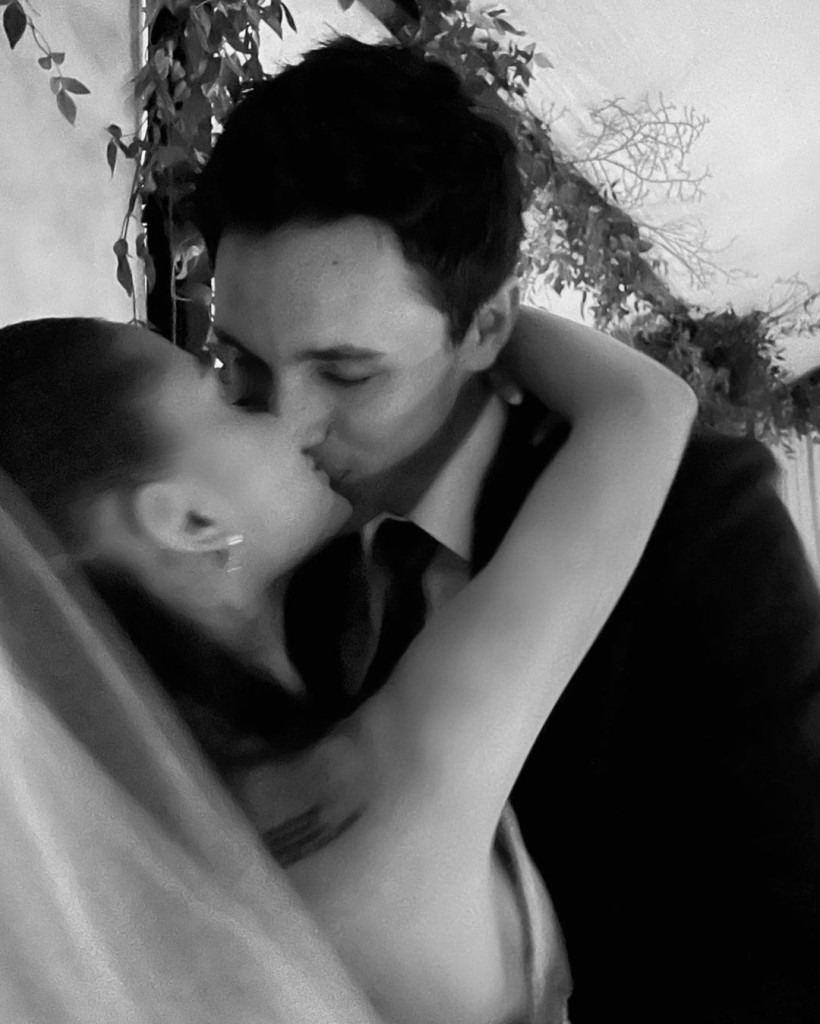 Ariana Grande Shares First Pictures From Her Wedding To Dalton Gomez - SurgeZirc UK
