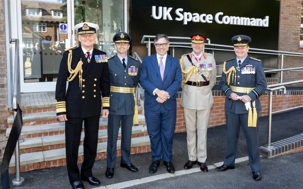 Russia and China accused of posing daily threat from space as UK Space Command opens