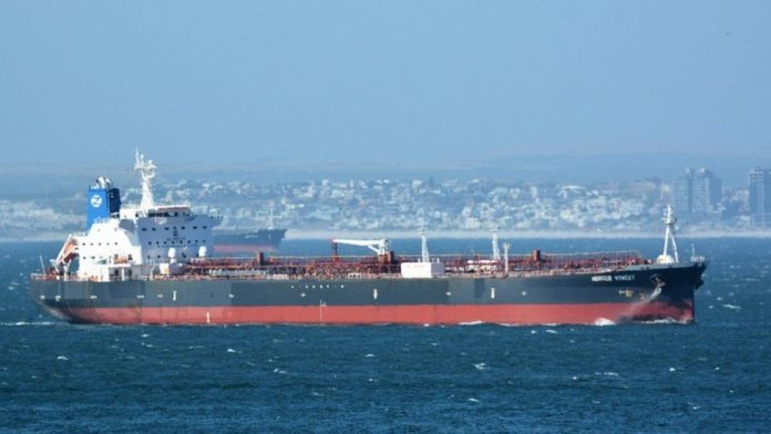 The Mercer Street was attacked off the coast of Oman, and two on board were killed