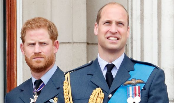 Prince Harry and Prince William.