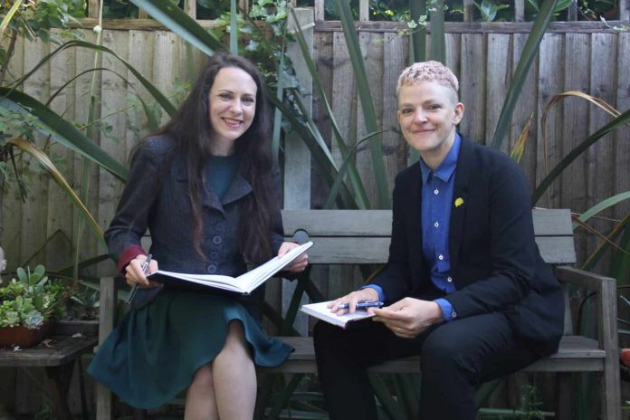 The history-making duo vying to lead the Greens