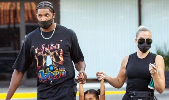 Khloé Kardashian And Tristan Thompson Spotted In Matching Outfits While Taking Daughter True To Dance Class - SurgeZirc UK